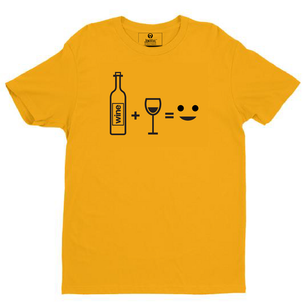 SMILE THERE'S WINE - (3 colors)