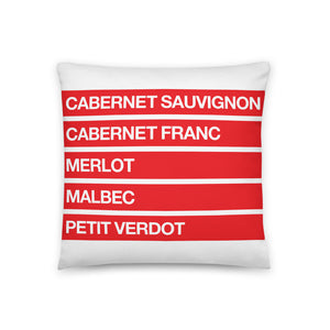 THE NOBLE FIVE PILLOW
