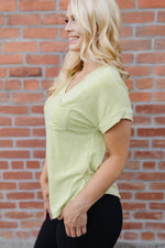 Luscious Lemoncello Knit Tee