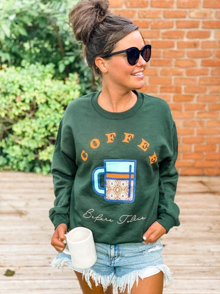 Coffee Before Talkie Sweater
