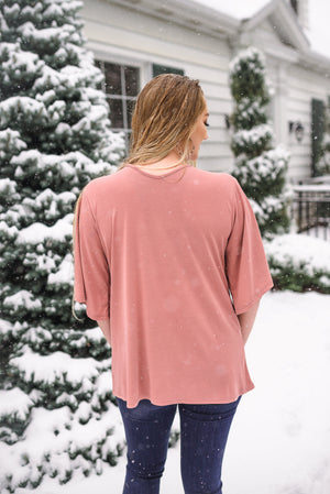 My Signature Color Top In Mauve