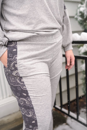 Perfectly Paisley In Everyway Lounge Bottoms