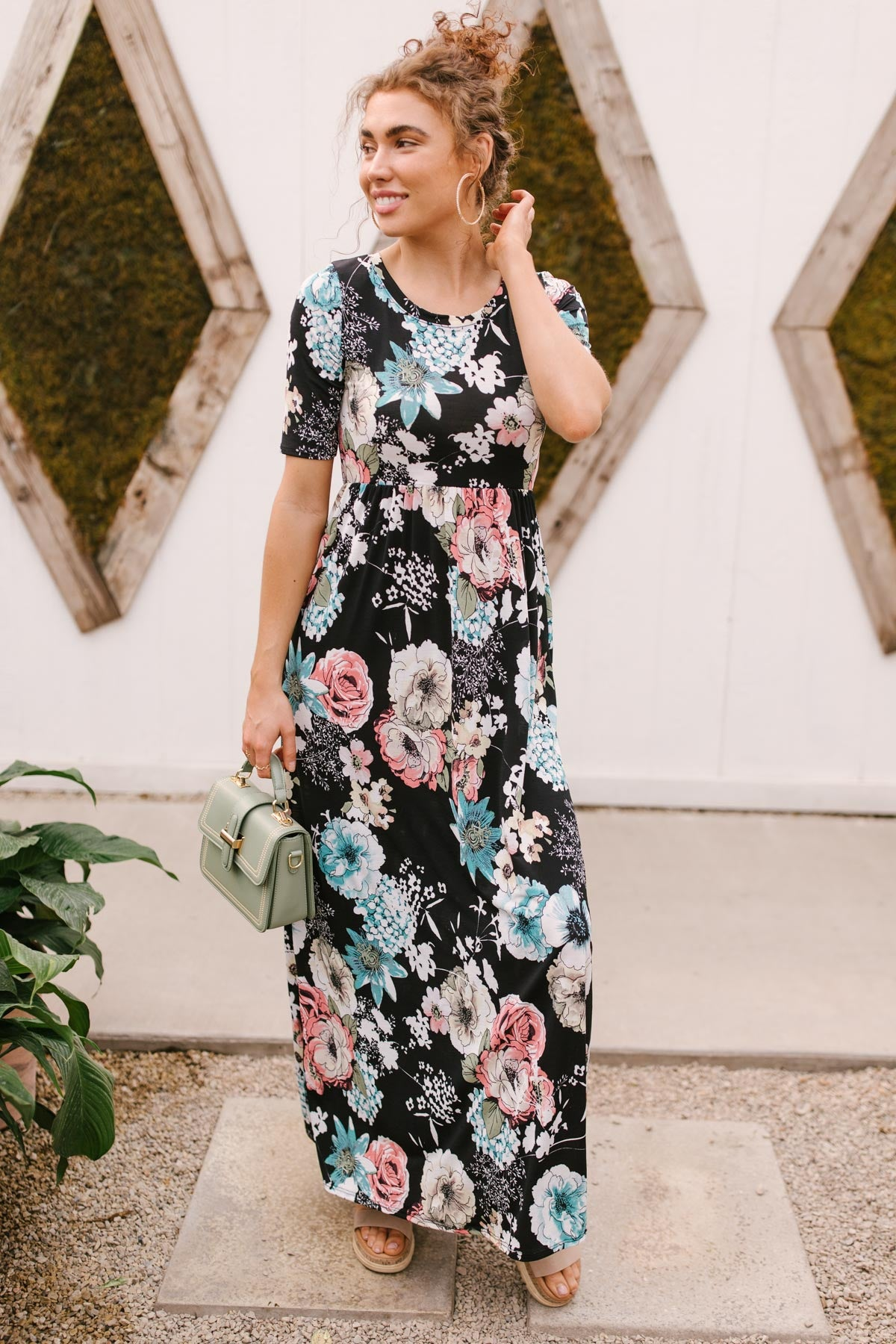 Date Night Maxi in Black