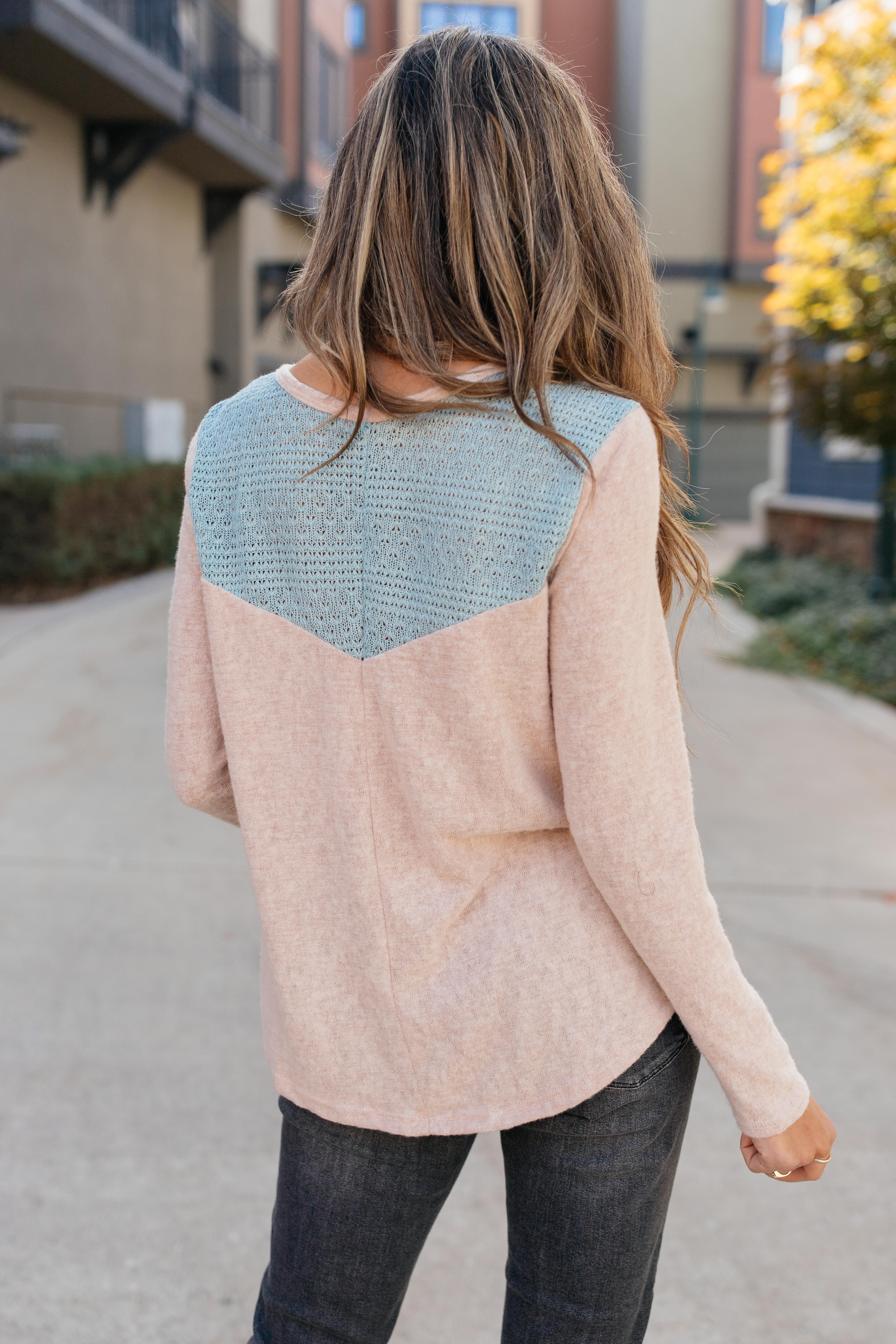 The Everything Nice Top in Pink