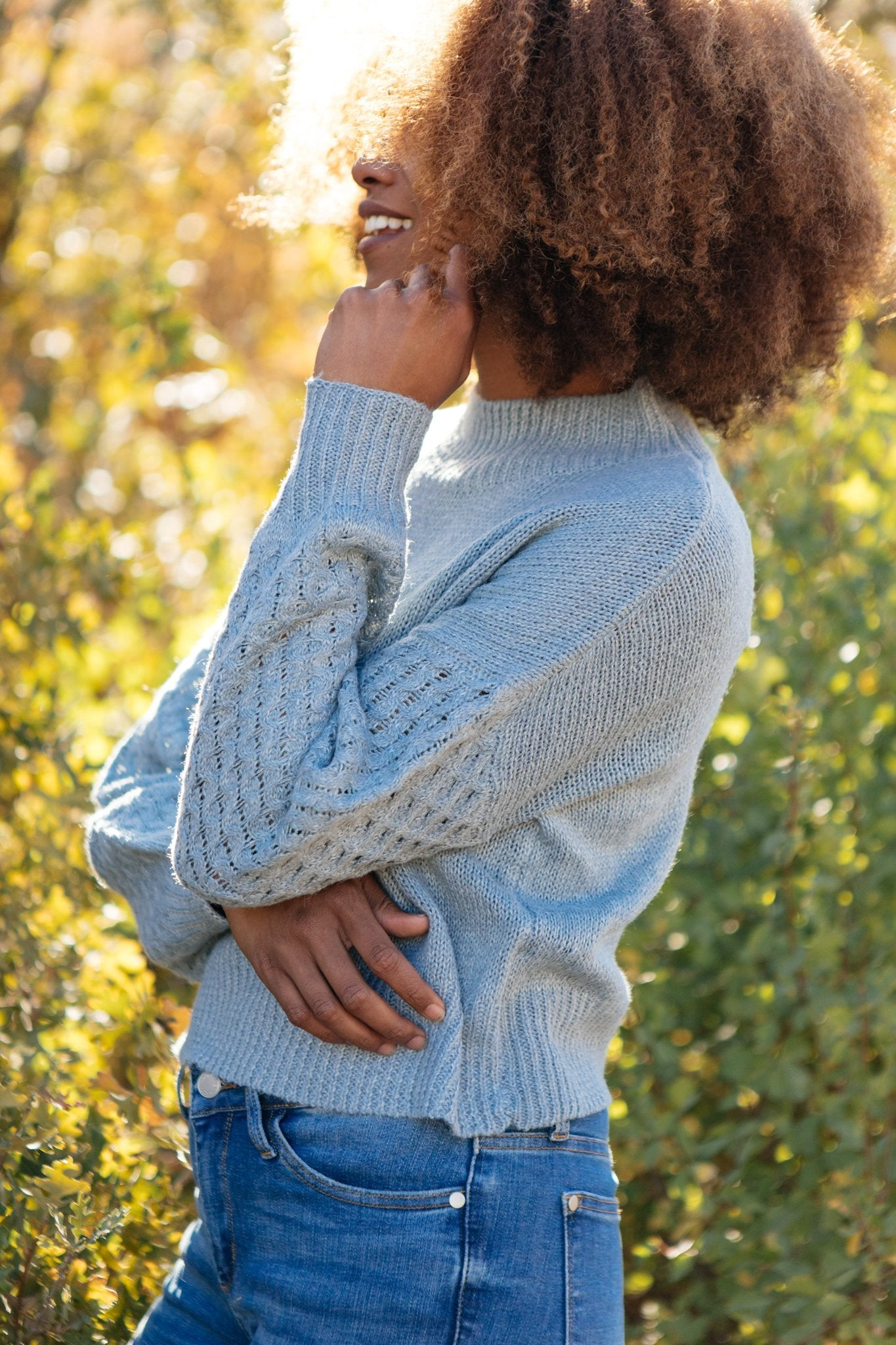 Wear Your Details On Your Sleeve Sweater