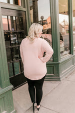 Pretty In Pink Long Sleeved top