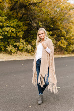 Shawl We Dance Through Fall Ruana