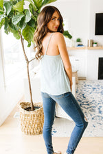 Simple Pleat Camisole