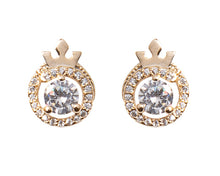 Load image into Gallery viewer, Queen Identity Stud Earrings