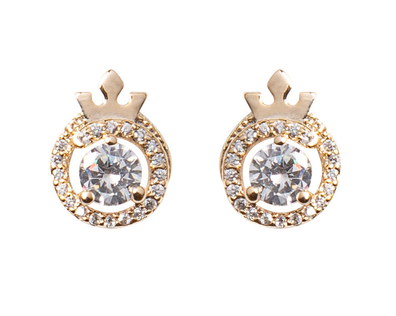 Queen Identity Stud Earrings