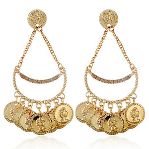JASMINE GOLD GYPSY EARRINGS