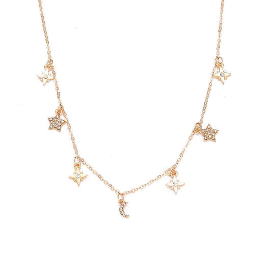 CELINE NIGHT SKY NECKLACE