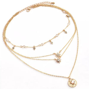 ASTRID MULTILAYER NECKLACE