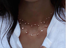 Load image into Gallery viewer, CELINE NIGHT SKY NECKLACE