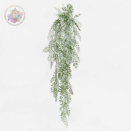 Grey Weeping Fern Bush - Home Decor