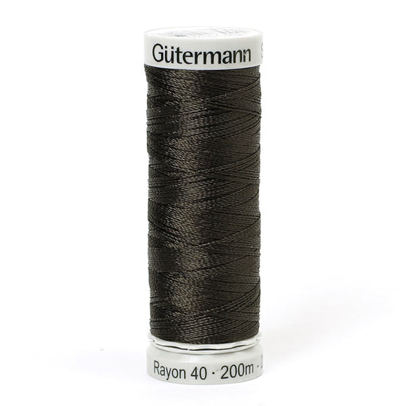 Gutermann Rayon 40 Thread Black