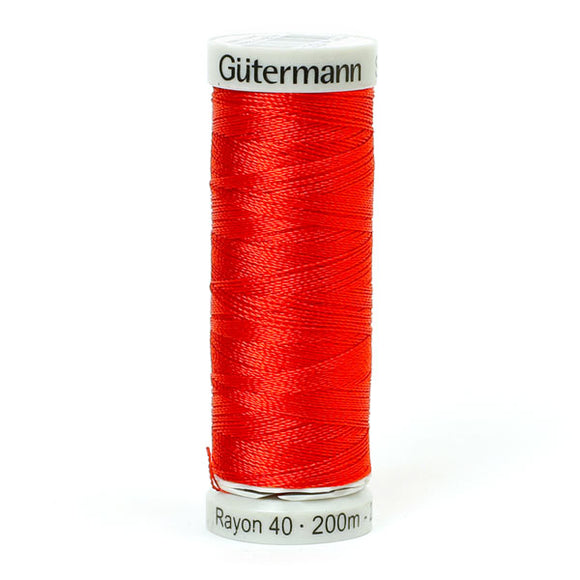 Gutermann Rayon 40 Thread Light Red
