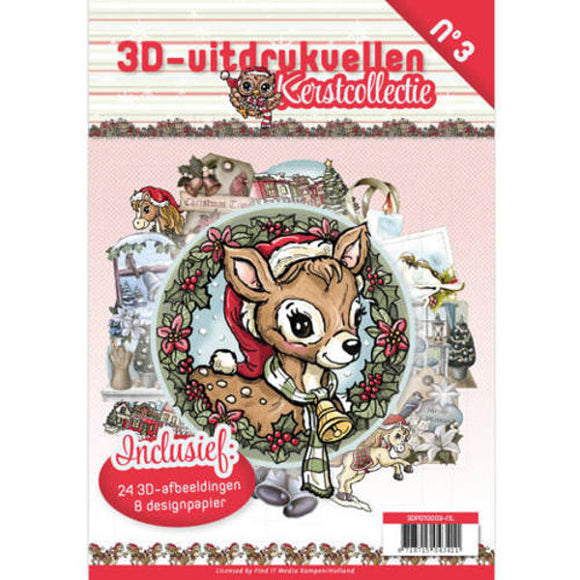 Christmas Collection Decoupage & Backing Paper Book
