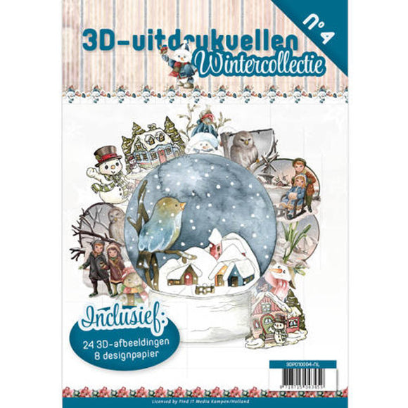 Winter Collection Decoupage & Backing Paper Book