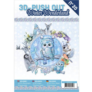Winter Wonderland Decoupage & Backing Paper Book