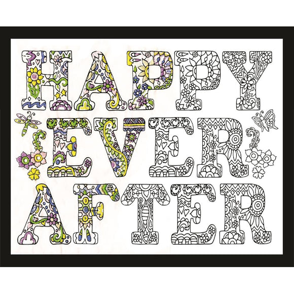 Zenbroidery Printed Fabric - Happy Ever After
