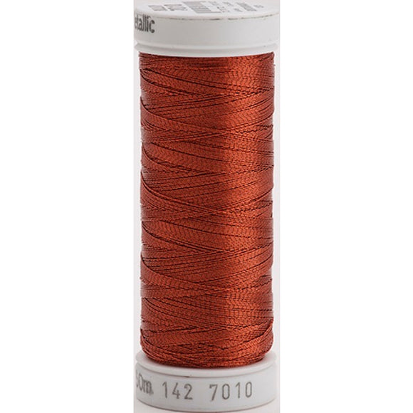 Gutermann Sulky Metallic Thread Brown