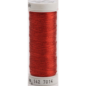 Gutermann Sulky Metallic Thread Red