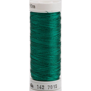 Gutermann Sulky Metallic Thread Jade Green