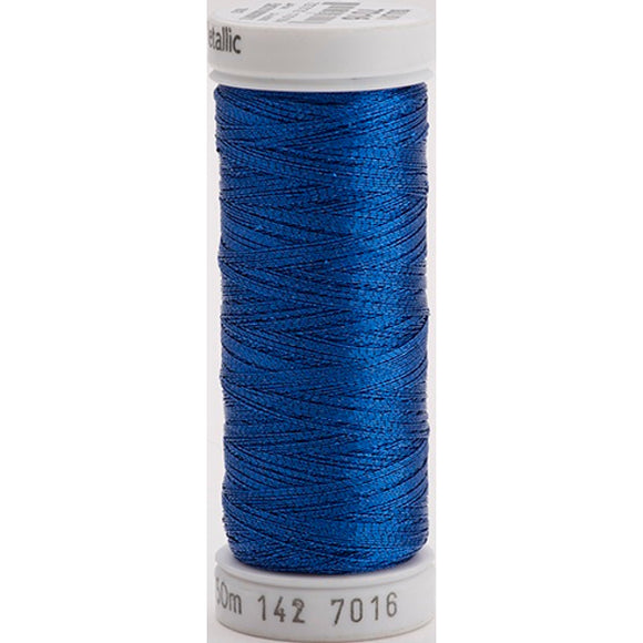 Gutermann Sulky Metallic Thread Dark Blue