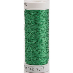 Gutermann Sulky Metallic Thread Green