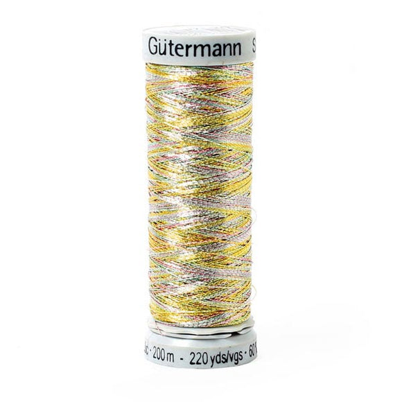 Gutermann Sulky Metallic Thread Multi Colour