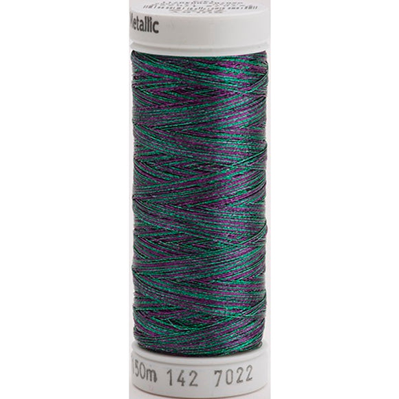 Gutermann Sulky Metallic Thread Jade/Purple