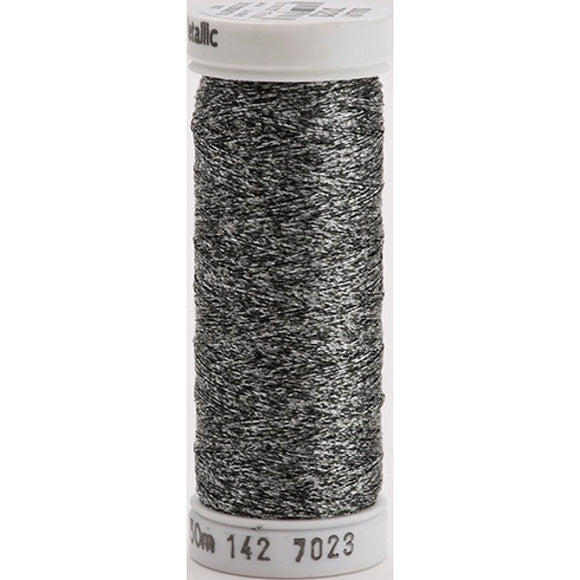Gutermann Sulky Metallic Thread Black/Silver