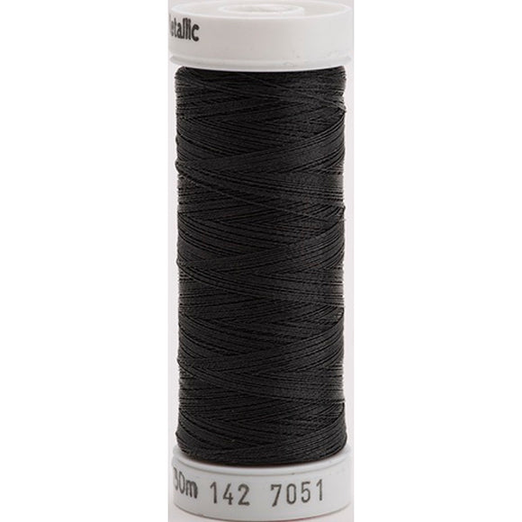 Gutermann Sulky Metallic Thread Black