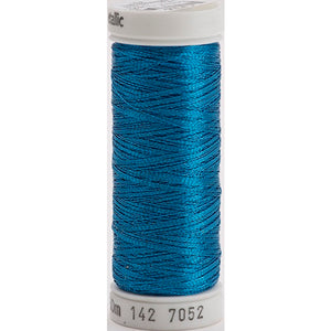 Gutermann Sulky Metallic Thread Peacock Blue
