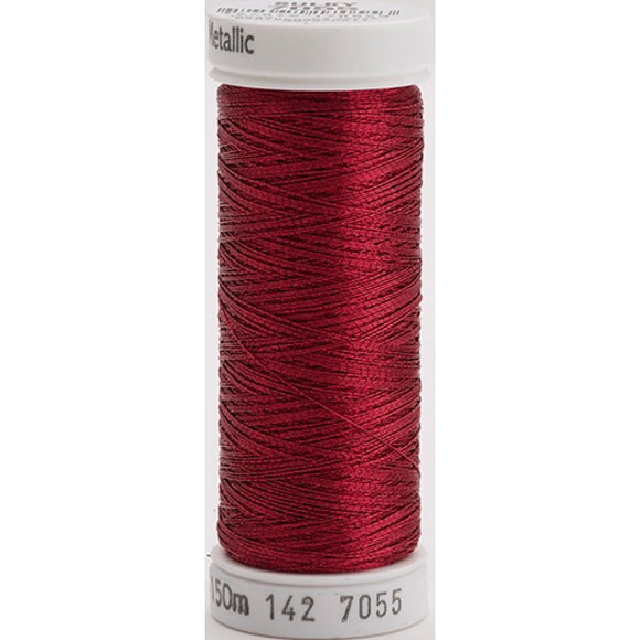 Gutermann Sulky Metallic Thread Cranberry