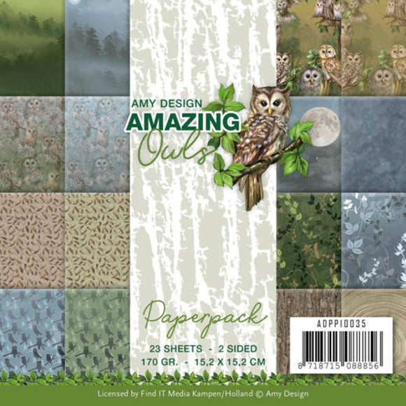 Amazing Owls Paperpack