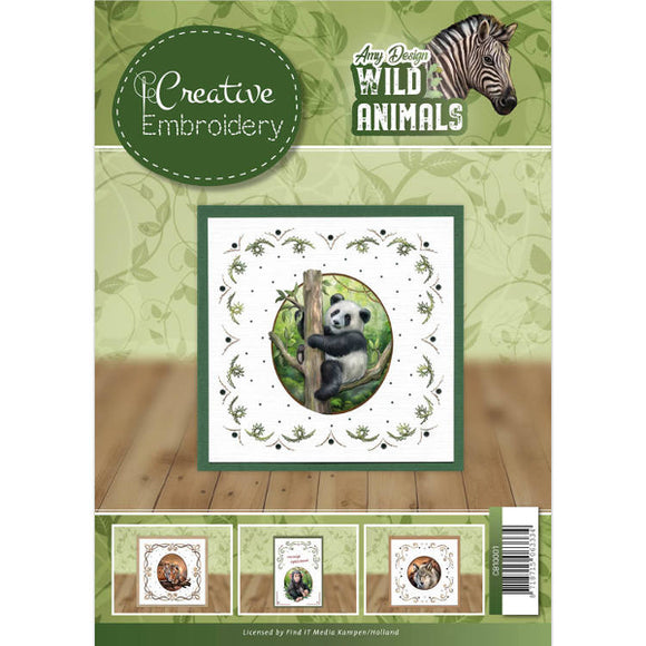 Creative Embroidery Book 1 - Wild Animals