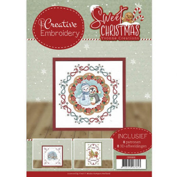 Creative Embroidery Book 6 - Sweet Christmas