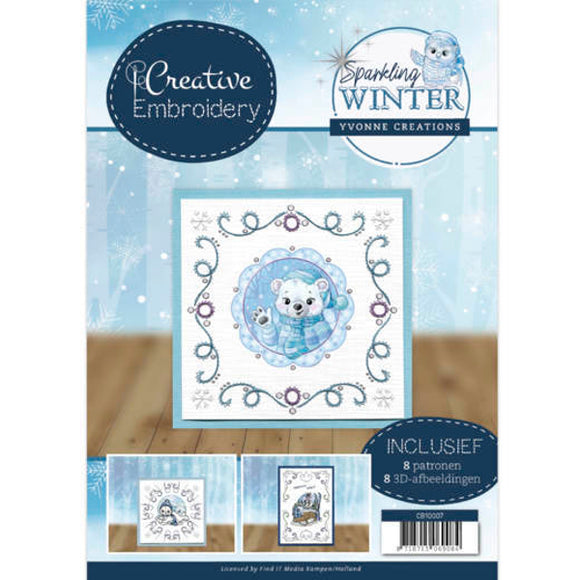 Creative Embroidery Book 7 - Sparkling Winter