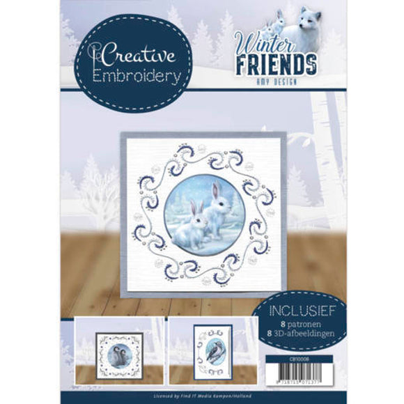 Creative Embroidery Book 8 - Winter Friends