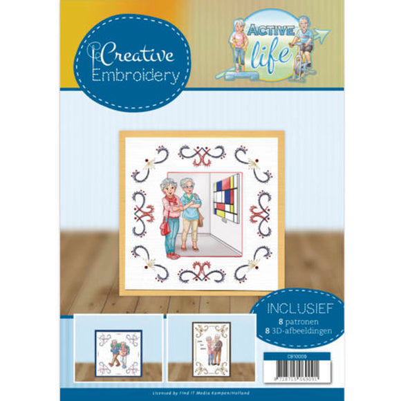 Creative Embroidery Book 9 - Active Life