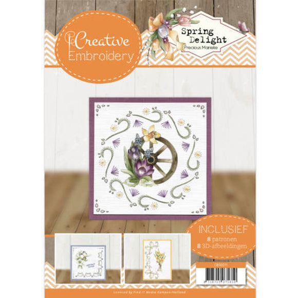 Creative Embroidery Book 11 - Spring Delight