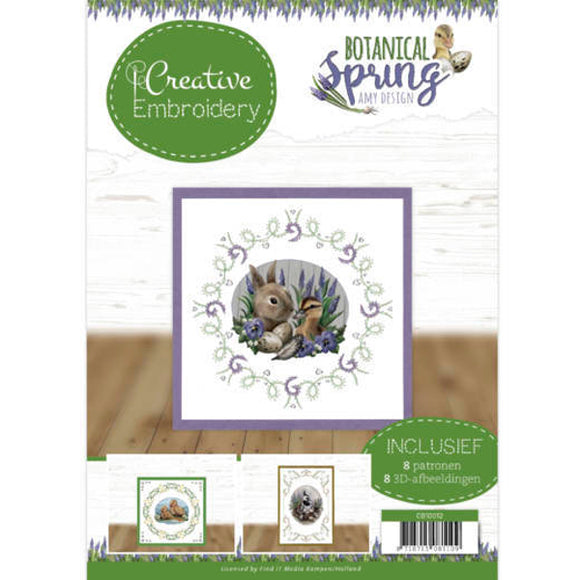 Creative Embroidery Book 12 - Botanical Spring