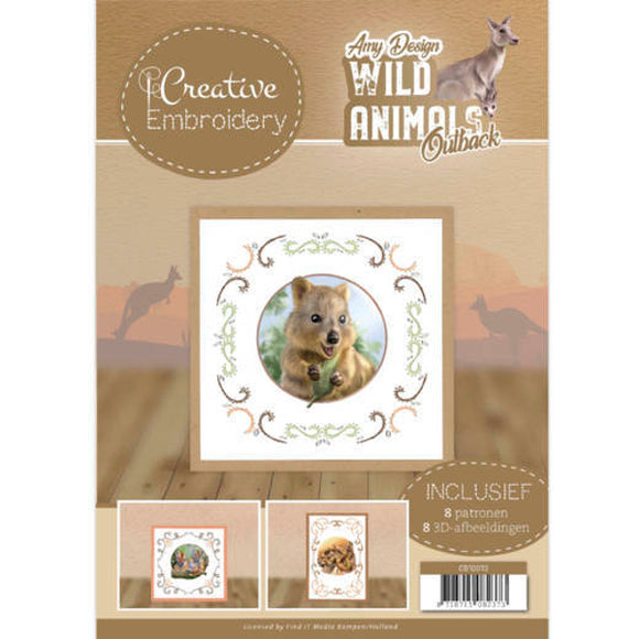 Creative Embroidery Book 13 - Wild Animals Outback