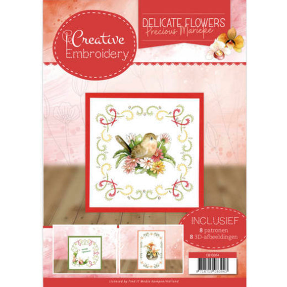 Creative Embroidery Book 14 - Delicate Flowers