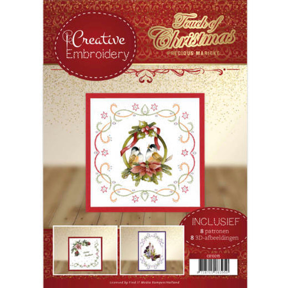 Creative Embroidery Book 15 - Touch of Christmas