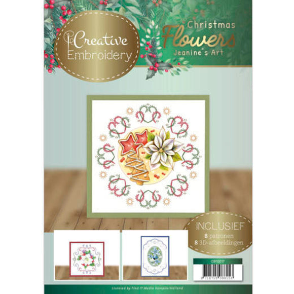 Creative Embroidery Book 17 - Christmas Flowers
