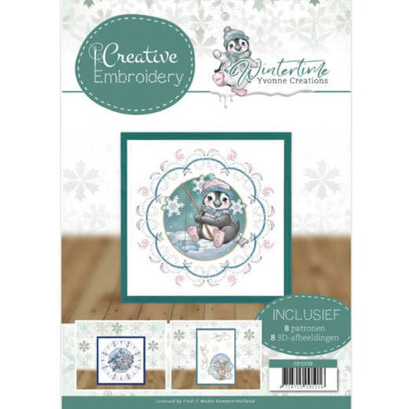Creative Embroidery Book 19 - Winter Time