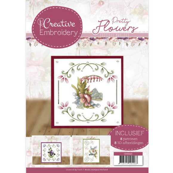 Creative Embroidery Book 20 - Pretty Flowers